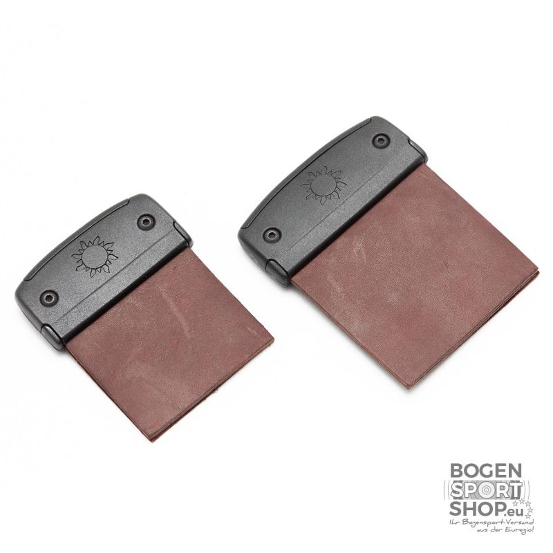 Fairweather Fabb PRO Barebow Tab Plates + Leather