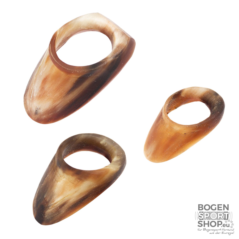 Bogensportshop.eu White Feather Thumb Ring