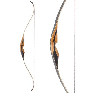 Ragim One Piece Recurve Bow Black Hawk 58""