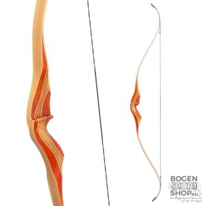 Ragim One Piece Recurve Bow Red Deer 60""